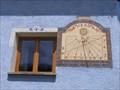 Image for Fine Sundial on Gabelous Gite, St Veran, France