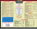 Image for Neptune Subs takeout menu - Oklahoma City, OK