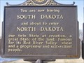 Image for You are now leaving South Dakota