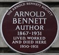Image for Arnold Bennett - Baker Street, London, UK
