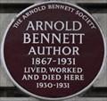 Image for Arnold Bennett - Baker Street, London, UK