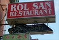 "Image for Rol San Restaurant ""OPEN"" sign - Toronto, ON"