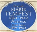 Image for Dame Marie Tempest - Park Crescent, London, UK
