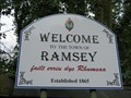 Image for Welcome Sign A18 'Ramsey Hairpin' - Ramsey, Isle of Man