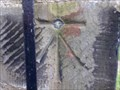 Image for Cut Bench Mark with 1GL Bolt on St. Annes Church, Lewes, Sussex.