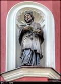 Image for St. John of Nepomuk on House N° 13  / Sv. Jan Nepomucký na dome c.p.13 - Tábor (South Bohemia)