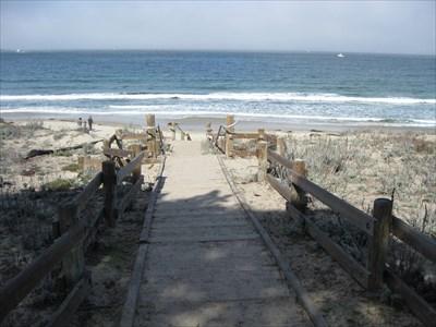 Monterey State Beach Boardwalk Ca Coastal Boardwalks On Waymarking
