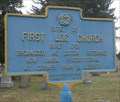 Image for First Log Church in Broome County, NY