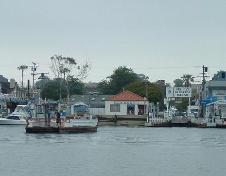 how to get to balboa island ferry