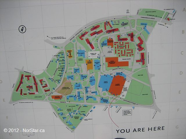 Boston College Campus Map - Map in General