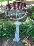 Image for Rio Grande Botanic Garden Sundial - Albuquerque, New Mexico