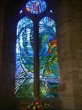 Image for The Norman Nicholson memorial window-Millom,Cumbria England.
