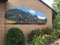 Image for Conestoga wagon mural - Harrisburg, Pennsylvania