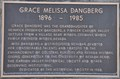 Image for Grace Melissa Dangberg