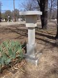 Image for Scattering Garden Sundial - Martin Oaks Cemetery - Lewisville, TX