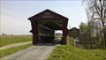 Image for Culbertson Covered Bridge / Reuben L. Partridge (1823-1900) Bridge Builder : Marker #14-80