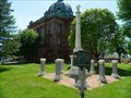 Image for Civil War Monuments - Grant County Courthouse - Lancaster, Wisconsin