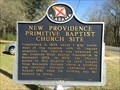 Image for New Providence Primitive Baptist Church Site - Glenwood, AL
