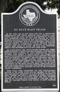 Image for Ku Klux Klan Trials