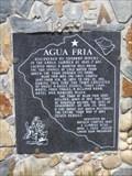 Image for Agua Fria - E Clampus Vitus Historical Marker - Mariposa, CA