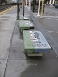 Image for Millbrae Caltrains Station Benches - Millbrae, CA