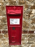 Image for Victorian Wall Post Box - Bignor, near Pulborough, West Sussex, UK