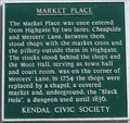 Image for Market Place, Kendal, Cumbria, UK