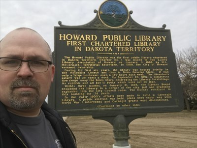 Howard Public Library- First chartered library in Dakota Territory
