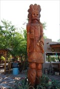 Image for Cigar Store Indian - Hole 'N the Rock - Moab, Utah