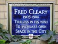Image for Fred Cleary - Cleary Garden, London, UK