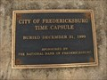 Image for City Of Fredericksburg Time Capsule