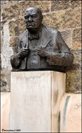 Image for Sir Winston Churchill in Thunovská street (Prague)