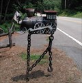 Image for Train Engine Mailbox - Cobb Co. Ga