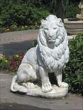 """Image for Lions at """" Le Jardin Retrouvé et la Jetée"""", Honfleur, France."""