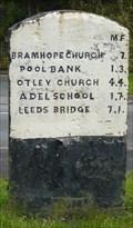 Image for Milestone - Leeds Road, Bramhope, Yorkshire, UK.