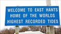 Image for East Hants - Home of the World's Highest Recorded Tides