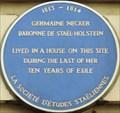 Image for Germaine Necker - Argyll Street, London, UK