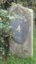Image for Lancaster Canal 4 Mile Milestone - Preston, UK