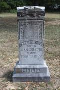 Image for Sallie J. Hood - Birdston Cemetery - Navarro County, TX