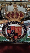Image for Stuart Coat of Arms - St Andrew- Weston-under-Lizard, Staffordshire