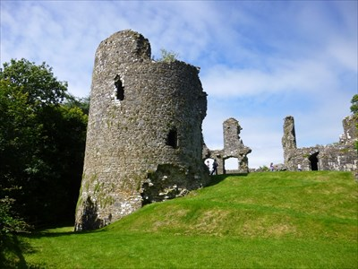 Great Hall - Narberth Castle.