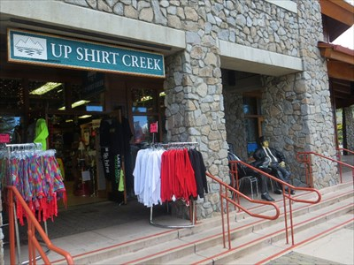 The Up Shirt Creed store at Heavenly Villiage