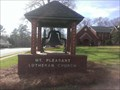Image for Church bell - Mt. Pleasant Lutheran Church - Saluda SC