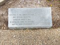 Image for Texas Hill Country German Pioneers Dedication Slab - Victoria, TX