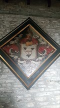 Image for Lt Col Maine Swete Walrond hatchment - St Mary - Sampford Spiney, Devon