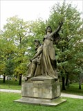 Image for Statue of Libuše and Premysl - Praha, Czech republic