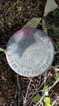 Image for USDOI/BLM T35S R3E S25 S26 S35 S36 Cadastral Survey Disk - Jackson County, OR