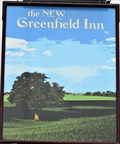 Image for The New Greenfield Inn - Pub Sign - Erw Road, Llanelli, Wales.