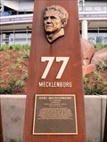 Image for Karl Mecklenburg, Ring of Fame Plaza, Mile High Stadium - Denver, CO