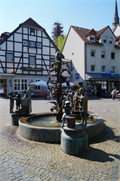 Image for Brunnen an der Basilika Werl - NRW, Germany